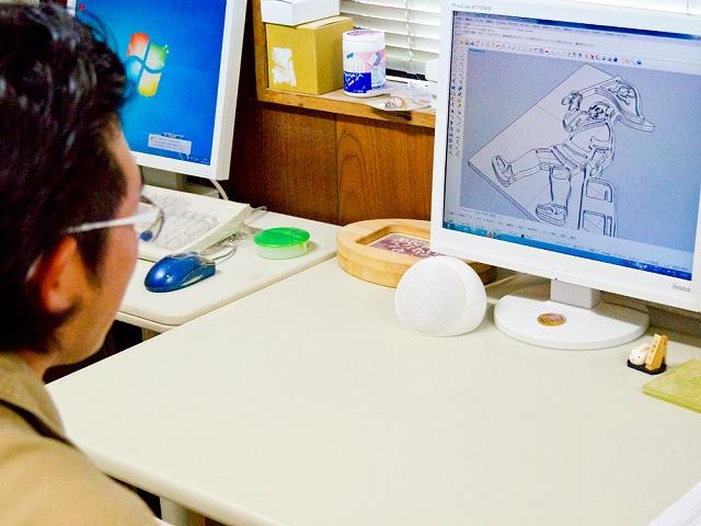 3Dデータ加工 (設計図)